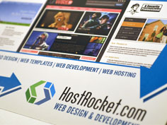 Web Hosting Marketing Materials